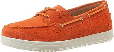 Mocassins, Orange Orange C2008