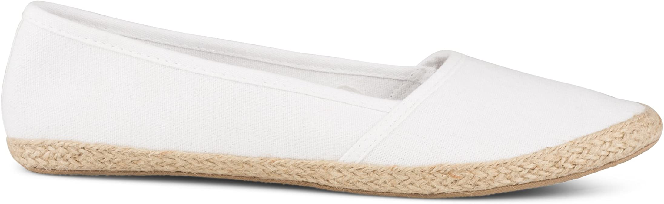 Ladies Canvas Slip-On Lightweight Shoes