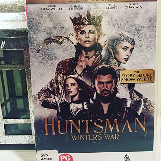 The Huntsman: Winter's War - Extended Edition ... and watching someone else's version of a beloved story like Divergent, the Hunger Games
