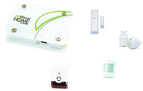 Kit de domotica Alarma Base myvirtuoso Home ES2: Amazon.es ...