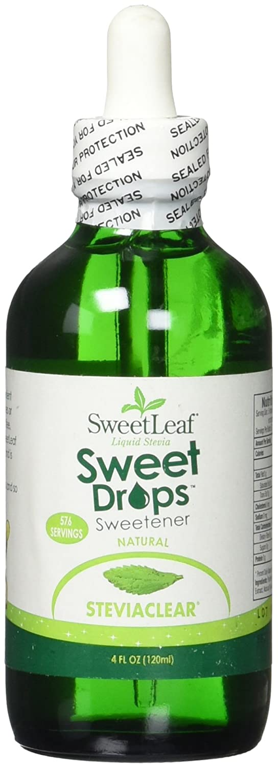 Sweet Leaf Liq Stevia Clear 120Ml 4 Fz