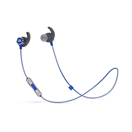 d0aee9d4 Amazon.com: JBL Reflect Mini 2 Wireless in-Ear Sport Headphones with  Three-Button Remote and Microphone - Blue: Home Audio & Theater