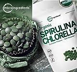 Organic Chlorella Spirulina 3000MG, 720