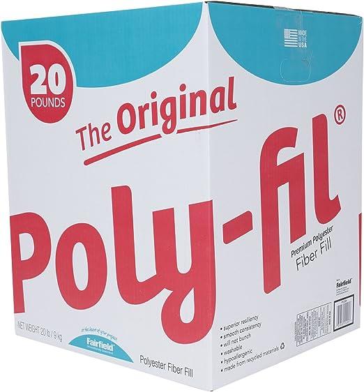 5 lb Box Poly-FIL Premium Fiber Fill