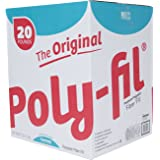 Fairfield the Original Poly-Fil Premium 100% Polyester Fiber Fill-Box, 20 lb, White