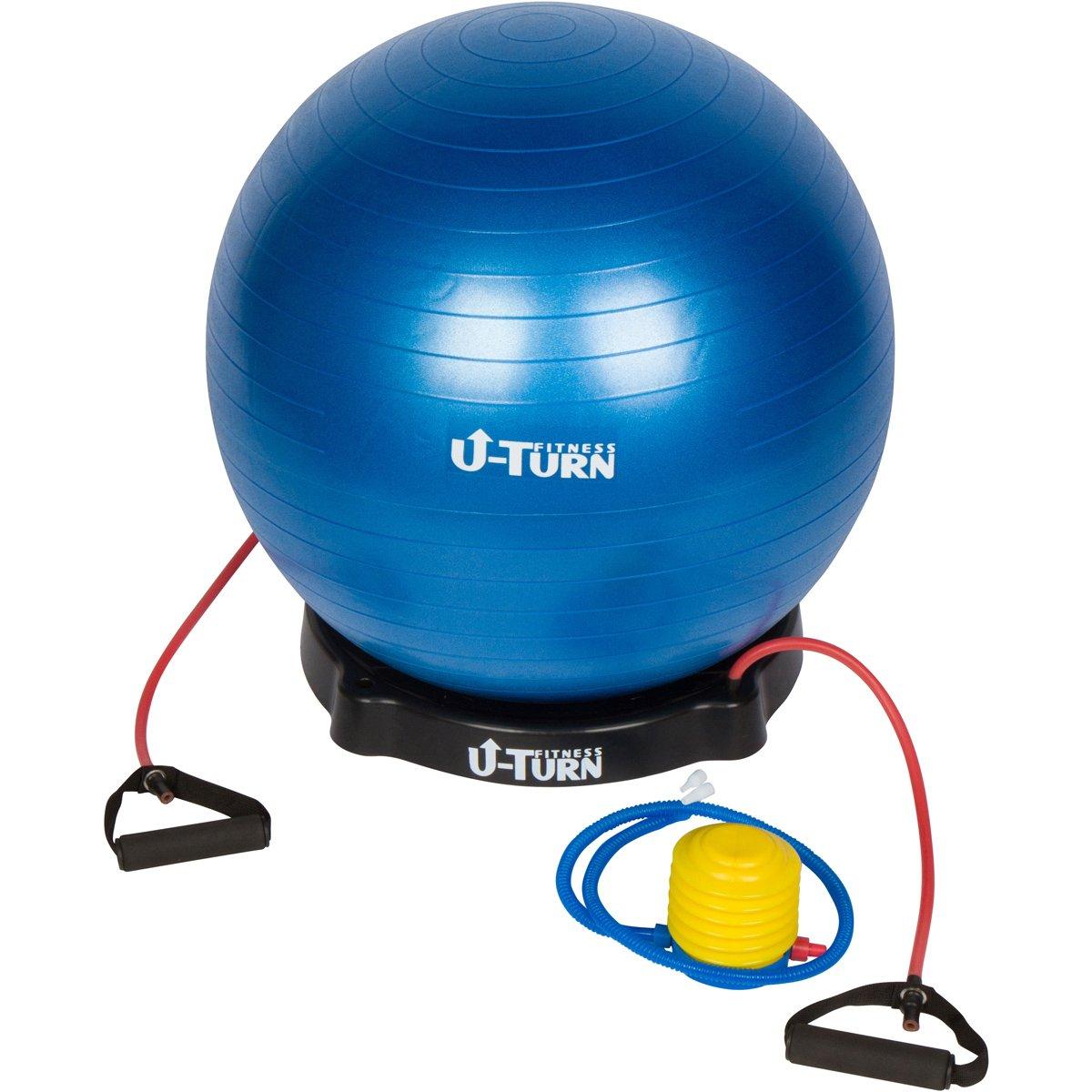 U-Turn Fitness Anti-Burst Physio Ball