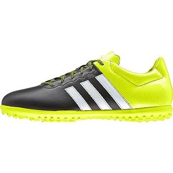 a171883d55 adidas Herren Fussballschuhe ACE 15.3 TF Leder core black/ftwr white/solar  yellow 46