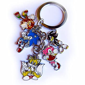 Amazon.com: Hedgehog de Sonic Llavero Set/Anime Expo