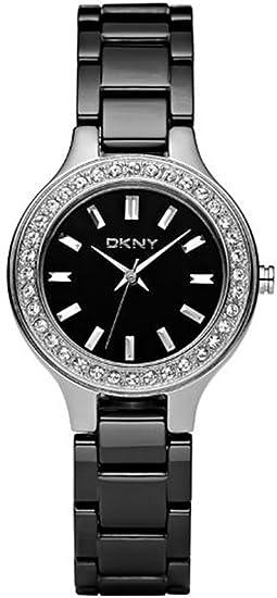DKNY NY4980 - Reloj para mujeres, correa de cerámica
