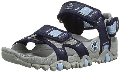Timberland RG Trail Sandals_RG Trail Nekkol Sandal, Damen Knöchelriemchen Sandalen, Blau (Navy), 40 EU