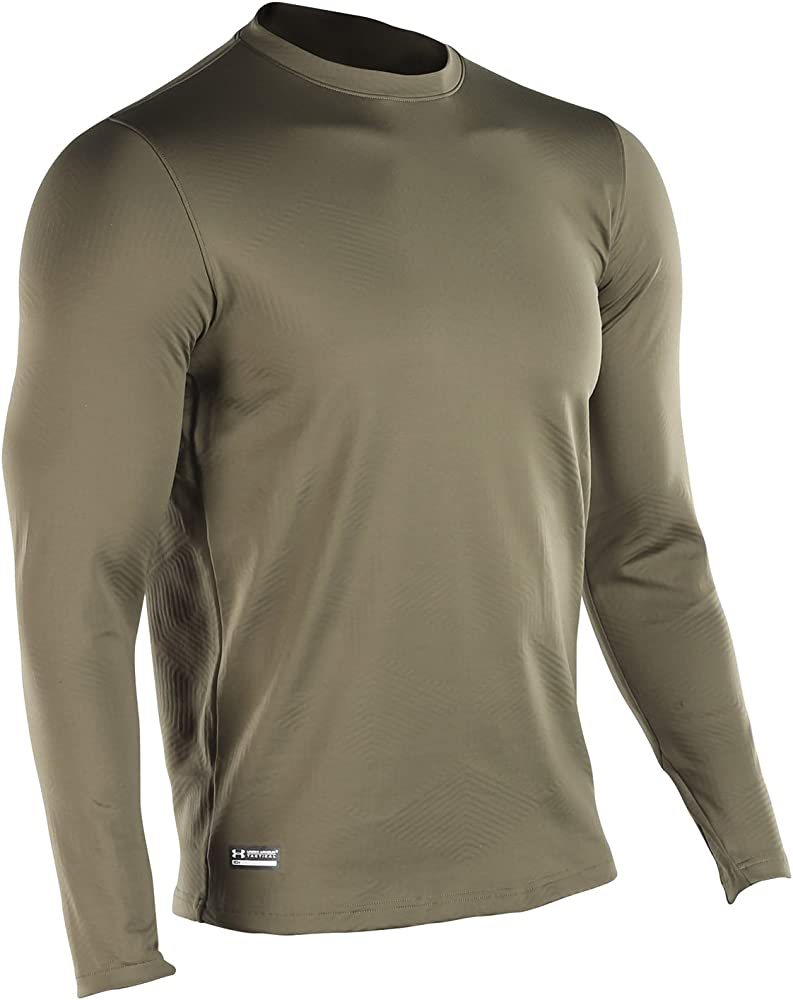 Under Armour - Camiseta interior táctica de manga larga, color verde oliva, talla XXL, UA1244394O: Amazon.es: Ropa y accesorios