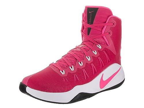 sports shoes 5c820 ae57f Nike Men s Hyperdunk 2016 Vivid Pink Pink Blast White Blk Basketball Shoe  13 Men US