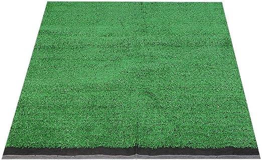 Rockyin Artificial de 10 mm de Espesor Simulación del césped de Hierba Alfombra Césped 1x1m del Paisaje del jardín (Esmeralda): Amazon.es: Jardín