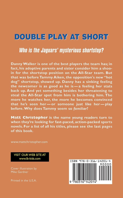 Amazon: Double Play At Short (matt Christopher Sports Classics)  (9780316142014): Matt Christopher, Karen Meyer: Books