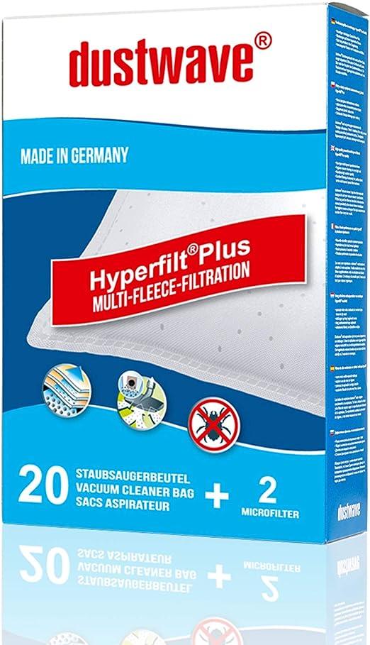 dustwave® Megapack - 20 bolsas para aspiradora Fagor - VCE 2000 / VCE2000 - Fabricado en Alemania + Incluye microfiltro: Amazon.es: Hogar