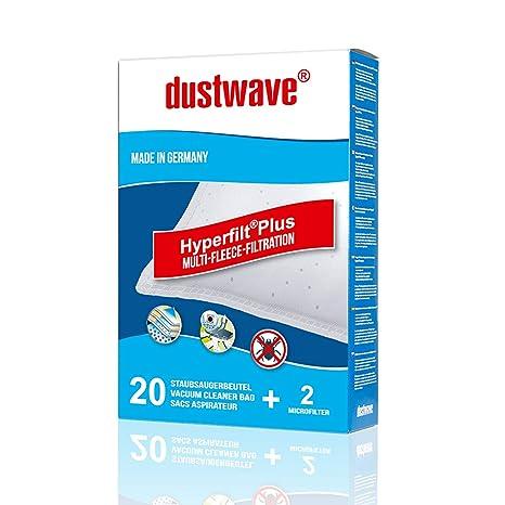 dustwave - 20 bolsas para aspiradora aptas para Siemens ...