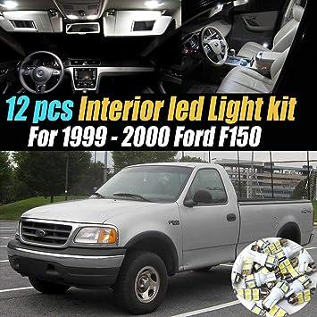 10Pc Car Interior LED Super White Light Bulb Kit for 2000-2005 Ford Excursion