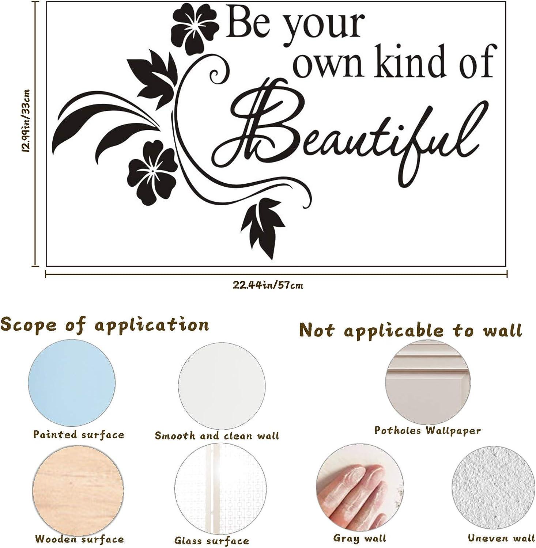 Peel & Stick Decal for Women Bedroom Bathroom Beauty Salon Home ...