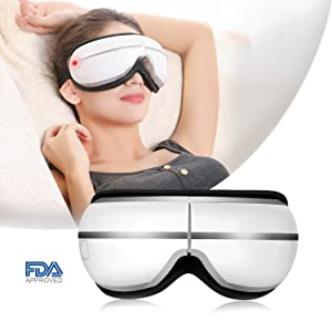Guisee Eye Massager with Heat & Air Pressure for Dry Eyes