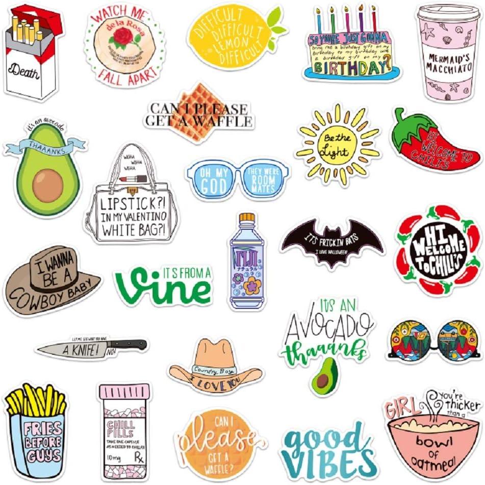 Fresh Vine Stickers for Girls 50pcs