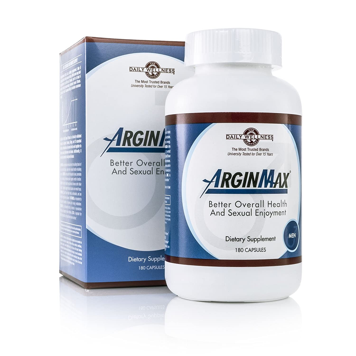 Daily Wellness Company ArginMax For Men — 180 Capsules