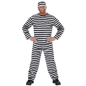Widman - Disfraz de preso para hombre, talla M (39092)