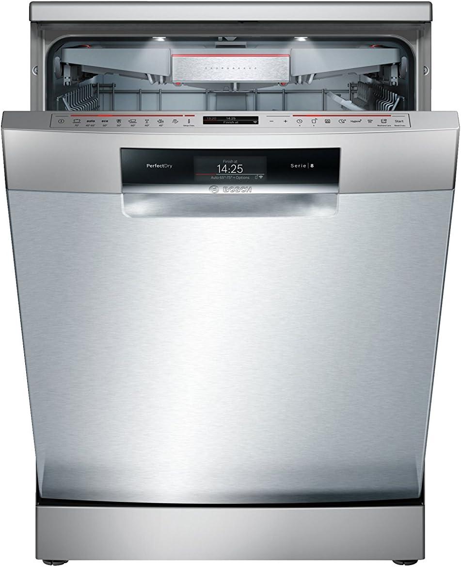 Bosch Serie 8 SMS88TI36E lavavajilla Independiente 13 cubiertos ...