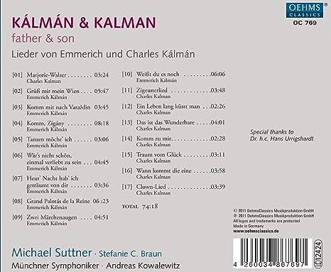 edcd880d KALMAN E. / KALMAN C. - Father & Son - Amazon.com Music