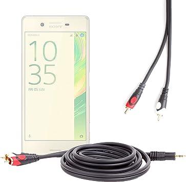 Cable estéreo para Sony Xperia X, xperia XA, Xa Ultra y X Performance Smartphones pantalla 5