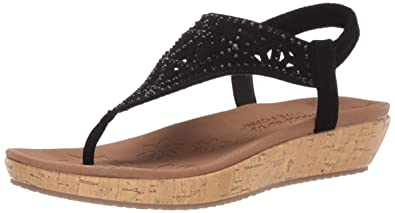 variousstyles quality many choices of Skechers Women's, Brie Dally Wedge Sandals