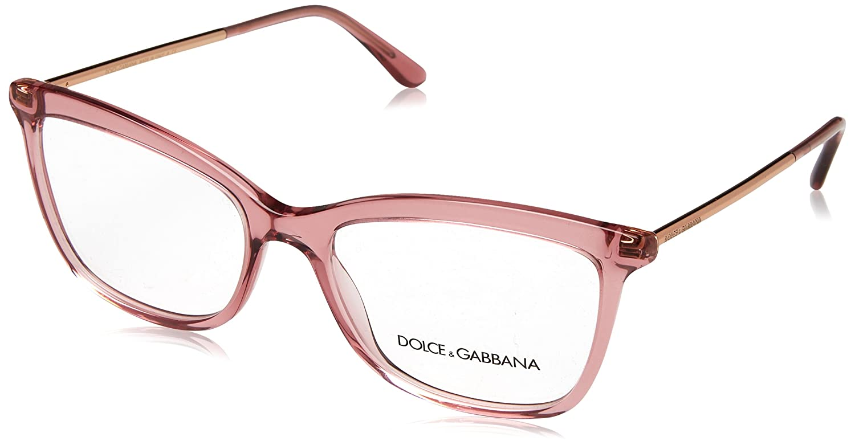 9bc5506530e Dolce   Gabbana Women s Prescription Eyewear Frame kristall rosa - gold 54   Amazon.co.uk  Clothing