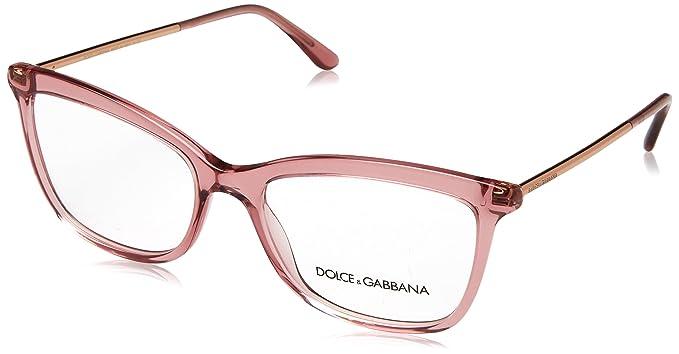 50a910dea7 Dolce & Gabbana 0Dg3286 Monturas de gafas, Transparente Pink, 54 para Mujer