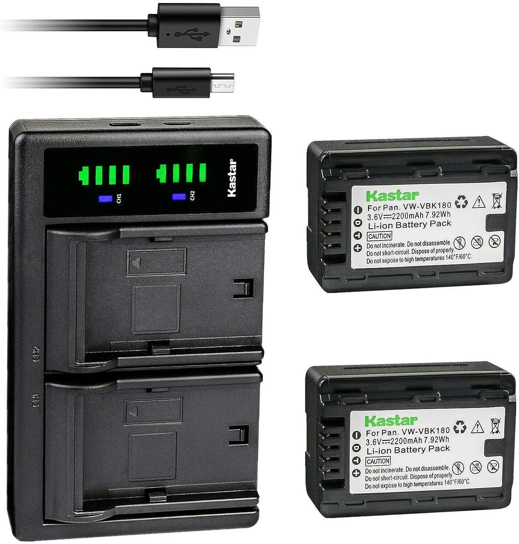 HC-V500MK Full HD Camcorder Battery Charger for Panasonic HC-V500 HC-V500M HC-V500K