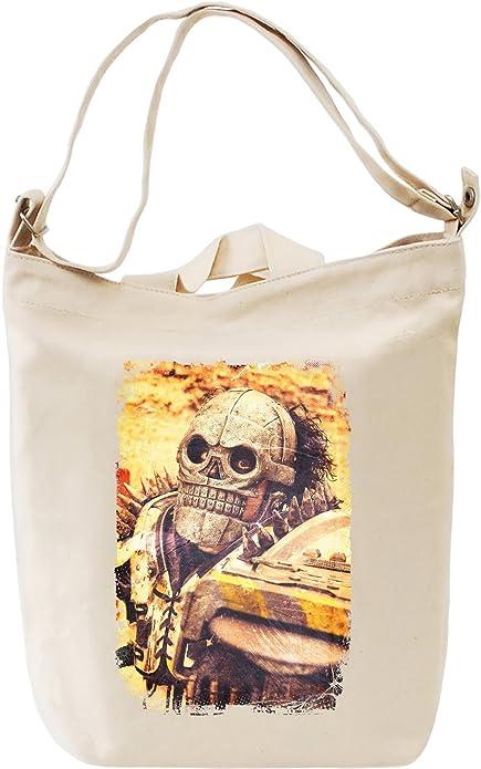 Turbo Kid Skull Mask Bolsa de mano DÃa Canvas Day Bag| 100% Premium Cotton Canvas Fashion: Amazon.es: Zapatos y complementos