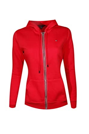 5f7f3bcbf5ce Tommy Hilfiger Womens Full Zip Hoodie at Amazon Women's Clothing store: