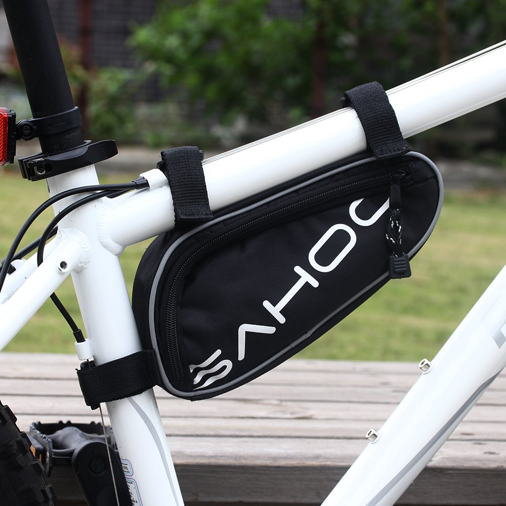 Sahoo Bicycle Bike Tyre 14 in 1 Multi-use Repair Tools Kits Bag with Mini Pump by SAHOO (Image #3)