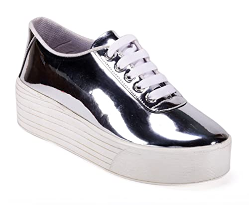 Bella Toes Designer Shoes for Women - Casual Shoes -Synthetic Leather  Casual Shoes for Girls and Women  Buy Online at Low Prices in India -  Amazon.in 67fd84c19