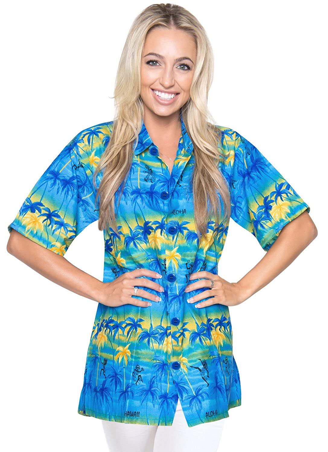 17dcc4f3529 Women Hawaiian Shirts - Shaka Time Hawaii Clothing Store