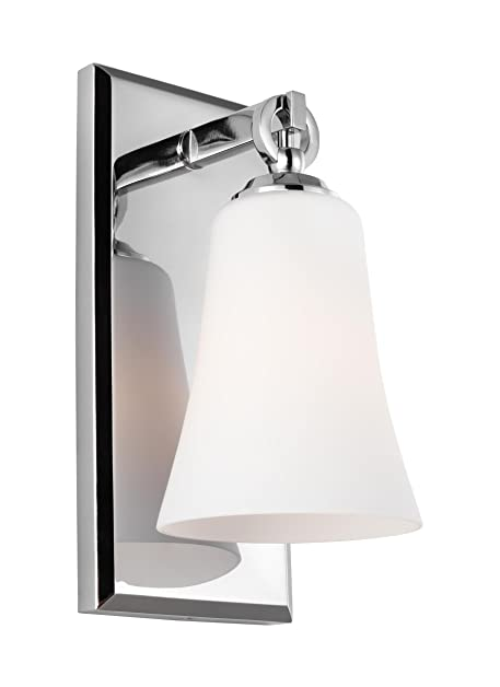 1 Light Wall Sconce Chrome Feiss