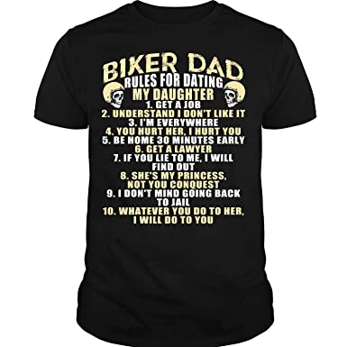 T shirt rules for dating daughter