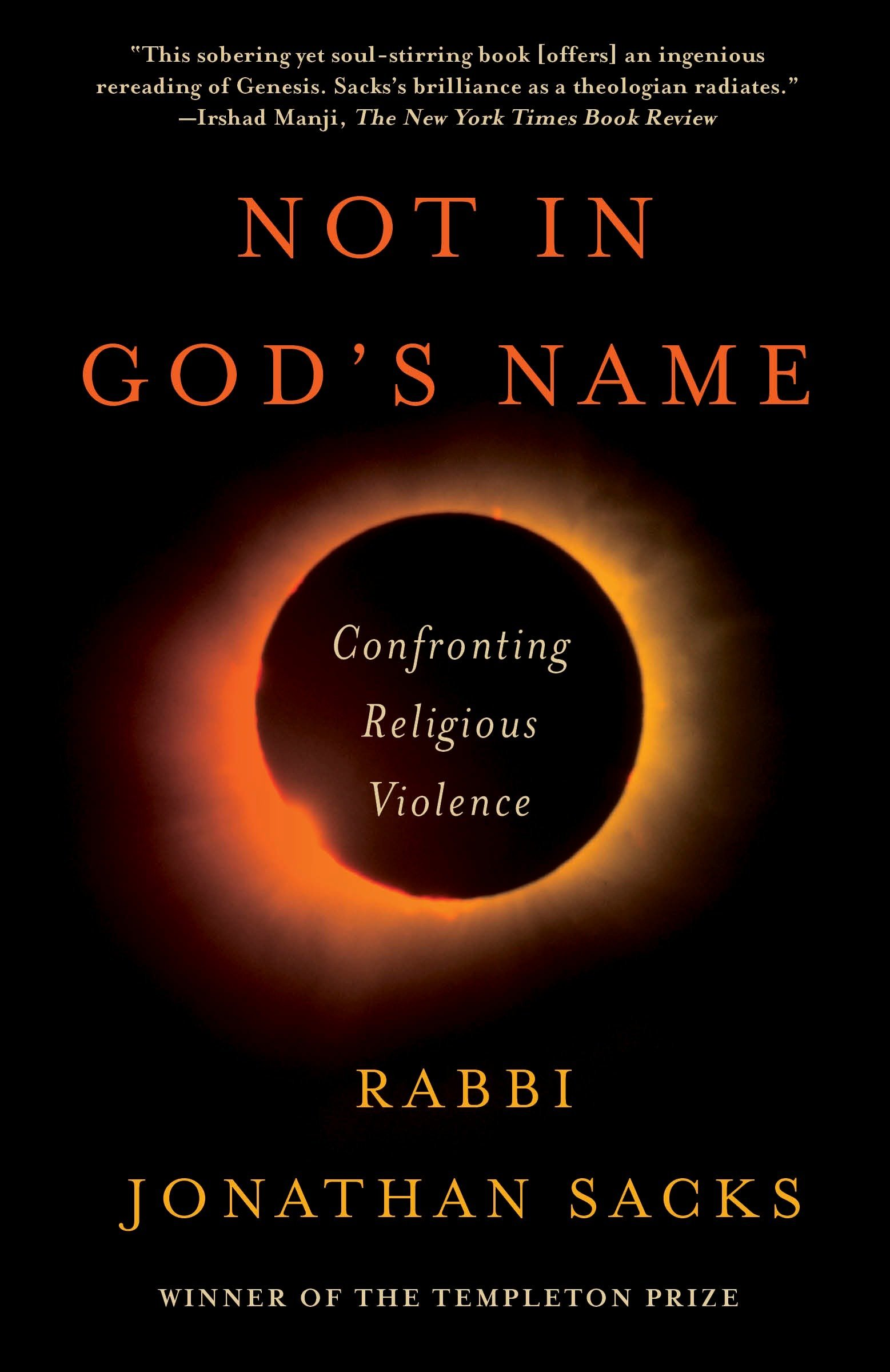 Not in God's Name: Confronting Religious Violence pdf