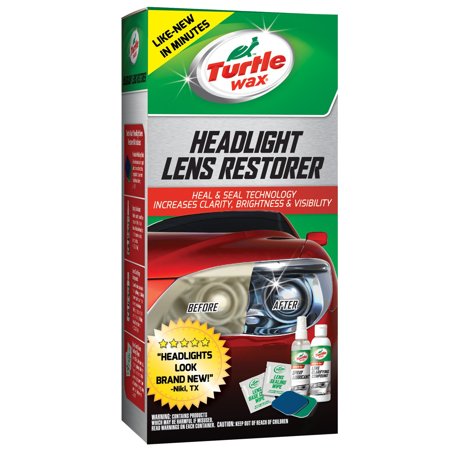 Turtle Wax Headlight Lens Rest...