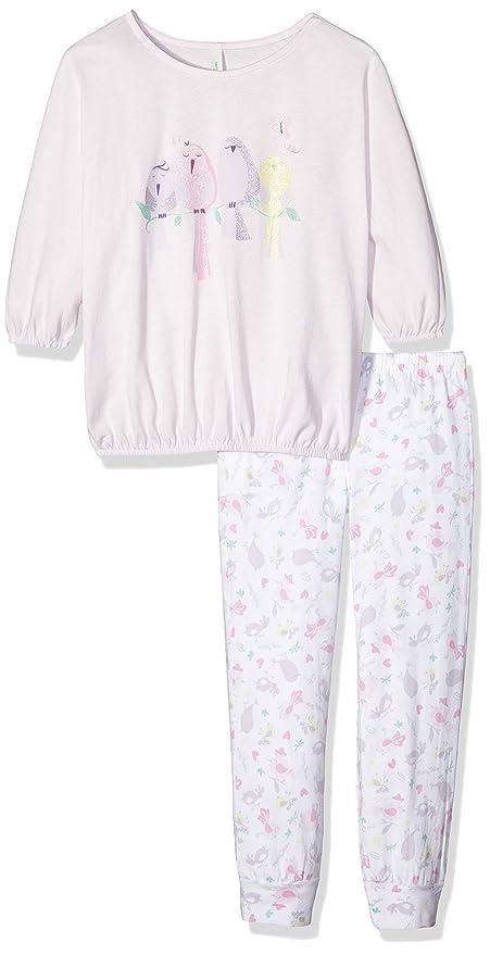 United Colors of Benetton Birds, Pijama para Niñas, Rosa (Pink), 7-8 Años: Amazon.es: Ropa y accesorios