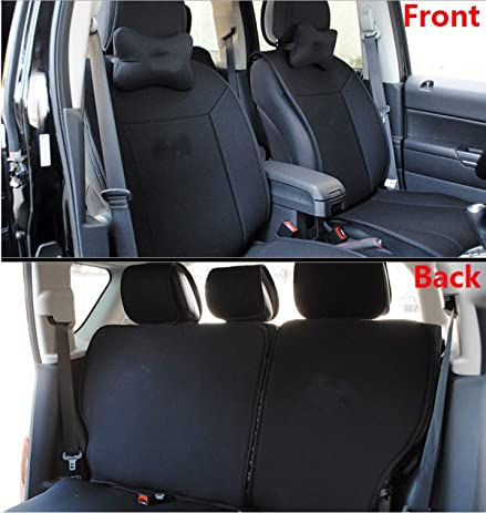 FMtoppeak ONE SET Front Rear Car Seat Covers Cushions For 2011 2014 Jeep