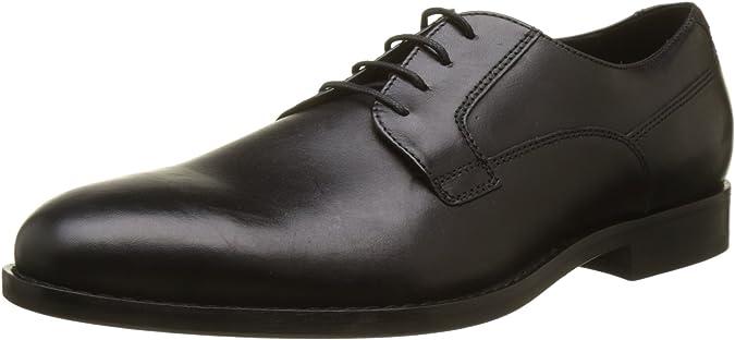 TALLA 44 EU. Geox U Hampstead A, Zapatos de Cordones Derby para Hombre