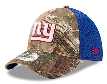 ed90628e931 Amazon.com   NFL New York Giants Mens NFL Realtree 39THIRTY NEO ...