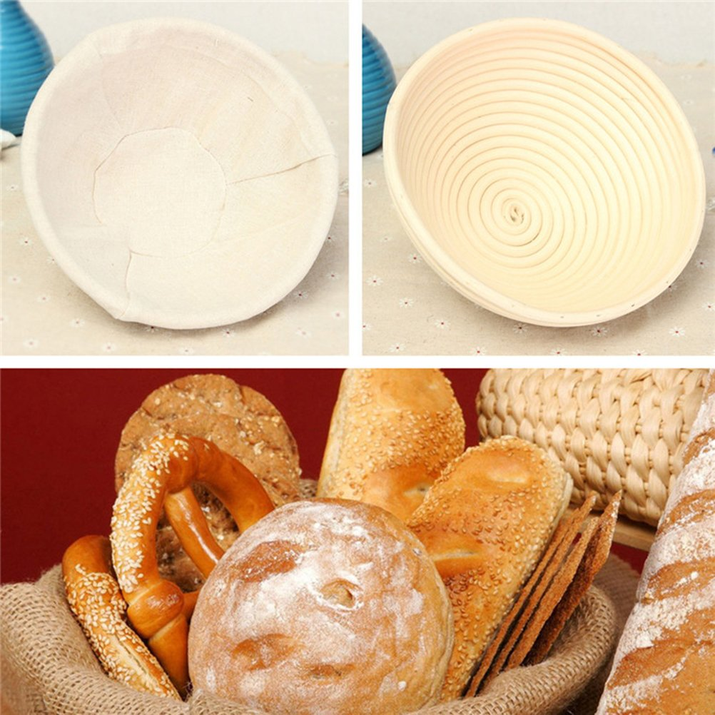 BESTOMZ Banneton Proofing cesta para pan y masa - Herramienta para ...