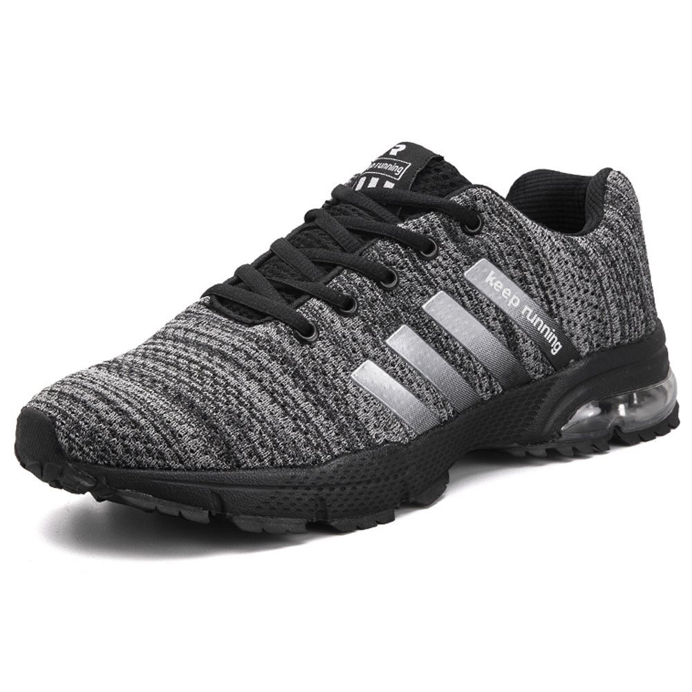 Men's Casual Fashion Air Cushion Lightweight Sneskers Sports Outdoor Jogging Walking Running Shoes B07F25G29W EU 41 /US 8|Grey