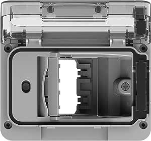 4box 4b.w.Ral Wide IP55 para Caja de empotrar Tipo 503, Gris: Amazon.es: Bricolaje y herramientas