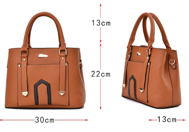 Frauen PU Leder Schulter Messenger Bag Europäischen Und Amerikanischen Amerikanischen Amerikanischen Stil Mode Trend Handtasche Casual Wild Damen Tasche B077YCX9L5 Henkeltaschen Stilvoll und lustig b6b330